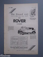 R&L Ex-Mag Advert: Rover Sportman Coupe Car