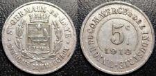 Pièces de monnaie françaises de 25 centimes pour 5 centimes