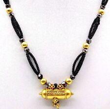 Vintage Antique Bright 20K Gold Handmade Pendant Amulet Tribal Jewelry