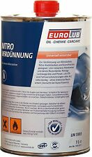 Eurolub Nitro Verdünnung Waschverdünnung Nitroverdünnung für zB Autolack 1 Liter