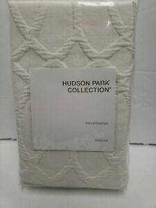 Hudson Park Collection Euro Pillowsham Interlock Ivory