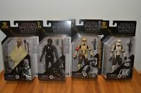 Lot of 4 Star Wars The Black Series Archive UNCIRCULATED Wave 2 2021