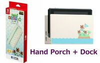Dock + Hand Porch Nintendo Switch Animal Crossing New Horizons Special Design