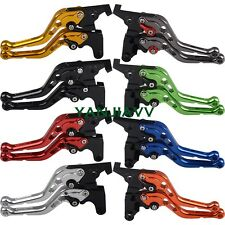 For SUZUKI GSXR1000 09-17 GSXR600 //750 2011-2017 157 CNC brake clutch levers