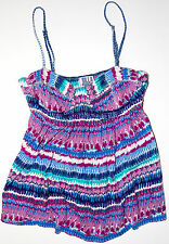 Ladies' Billabong Hopi Fashion Tank Spaghetti Strap Knit Camisole Top S Tribal