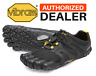 🔥VIBRAM FIVEFINGERS V-TRAIL 2.0 Trail Running Men's Shoes Black/Yellow - NEW!