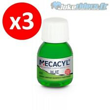 3x MECACYL *.* HJE 60ml - Additif Essence - Hyper lubrifiant Carbu / Injec 4T