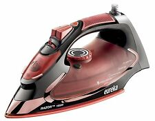 Powerful Steam Iron Super Hot 1500 Watt Iron Marsala Pouch Included Eureka Razor
