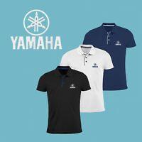 Chemise Polo T Shirt BRODÉ Logo Motocycle Homme Manches Courtes Slim Ajusté Tee