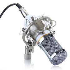 Studio & Aufnahme Kondensator-Mikrofon Mic Microfon Weiß