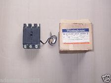 NEW Westinghouse Cutler hammer E 3 pole 20 amp Shunt Circuit breaker