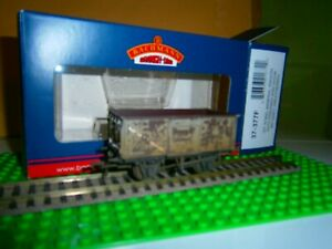 BACHMANN 37377F BR 16t GREY STEEL MINERAL COAL WAGON B100925  WEATHERED BOX