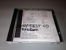 SONY (Redbook) Test CD