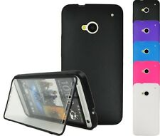 Case F HTC ONE m7 TPU Touch Case Cover Bag Pouch Cover SmartCover
