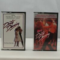 Dirty Dancing & More Dirty Dancing Movie Soundtrack Vintage Cassette Tape Lot x2