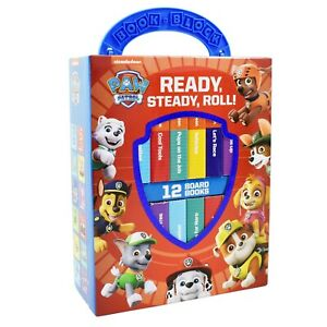 Paw Patrol My First Library Ready, Set, Roll! by PI Kids - Ages 0-5 - Board Book