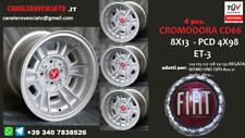 4 Cerchi in lega Fiat Cromodora CD66 8x13 4x98 13 pollici felgen wheels llantas