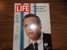 Life Magazine May 10 1968 - Paul Newman - Stars in Politics - McNamara