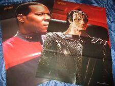 2 x Film Plakat : STAR TREK  , Deep Space Nine , Science Fiction TV Kult  / # 60