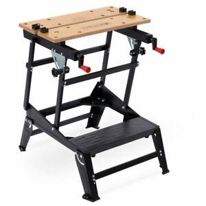 Kreator Werkbank Arbeitstisch faltbar klappbar höhenverstellbar Stahl - 100 kg