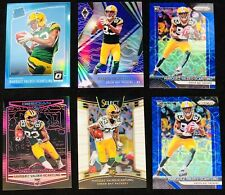 MARQUEZ VALDES-SCANTLING Prizm Blue Scope ALL Serial # LOT of 6 PACKERS STEAL