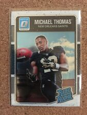 2016 DONRUSS OPTIC RATED ROOKIE MICHAEL THOMAS RC #186 SAINTS