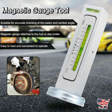 NEW Truck Car Camber Castor Strut Wheel Alignment Magnetic Gauge Tool Kit E2N4