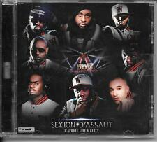 CD ALBUM LIVE--SEXION D'ASSAUT--L'APOGEE LIVE A BERCY 2012-2013 (FRENCH RAP)
