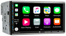 "New Dual DMCPA79BT 7"" 2 Din Digital Multimedia Receiver Work With Apple Carplay"