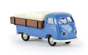 BREKINA 32973 VW T1b Avec Grossraum-Pritsche, H0