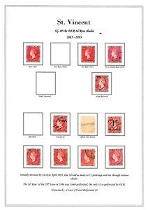 St Vincent SG48 1d Album page