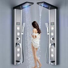 Duschsystem handbrause Regendusche Duscharmatur Duschpaneel Duschset Edelstahl