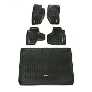 Outland 391298828 Black Floor Liners Kit for Jeep Liberty KK
