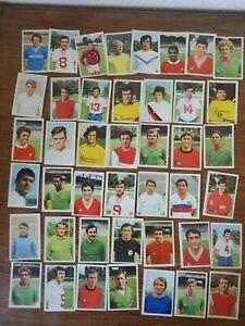 genre PANINI : AGEDUCATIFS Le Monde Prodigieux des Etoiles du FOOTBALL 1970-1971