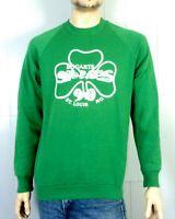 vtg 80s 90s retro 1990 Bogarts St. Louis St. Pat's Sweatshirt Not Rolla UMR XL