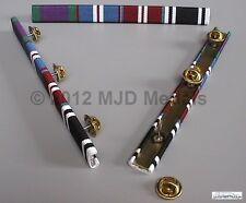 More details for gsm + gold jubilee + diamond jubilee + prison service l service medal ribbon bar