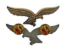 Luftwaffenadler Pin (Gold) | Hoheitsadler Wehrmacht Ass Balkenkreuz Luftass