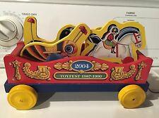 Fisher Price Commemorative Toy Fest Toy 2004..car 1 Of Mickey Choo Choo