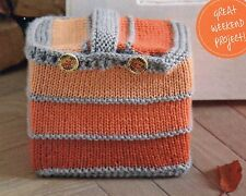 ~ Knitting Patterns For Super Stripy Door-Stop &  Lady's Lacy Boot Toppers ~