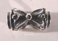 Authentic Trollbeads Silver bead Hourglass TAGBE-10179