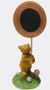 Bear with Lollipop Expressions of Love # 24448 Baby Girl Nursery Keepsake Russ