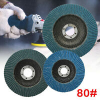 1 Piece 100/115/125mm Flap 80 Grit Discs Wheel Angle Sanding Grinder Rotary Tool