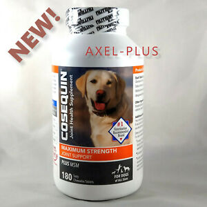 Cosequin DS Plus MSM Joint Health Supplement for Dogs 180 count.Chewable Tablets
