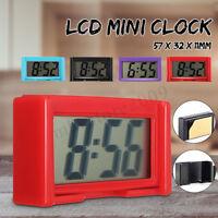 Automotive Digital Car Dashboard LCD Clock Calendar Display Self-Adhesive