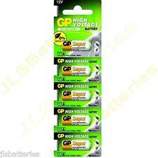 5 card  GP SUPER 23AE 12v MN21 k23A 23A A23 V23GA Alkaline Batteries