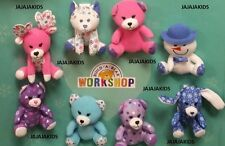 McDonalds 2015 - BUILD A BEAR WORKSHOP - COMPLETE SET OF 8 - FREE SHIPPING