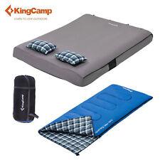 KingCamp Sleeping Bag Airbed Mattress Pillows Portable Cotton Flannel Outdoor