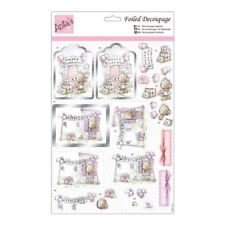 "Anita's Foiled Decoupage Sheet - ""Birthday Surprise"""