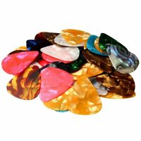 Guitar Picks Acoustic Electric Guitar Celluloid Assorted Colors 100 pieces NEW
