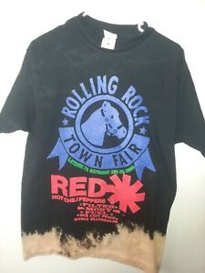 2000 RED HOT CHILI PEPPERS ROLLING ROCK TOWN FAIR CONCERT T-SHIRT sz L